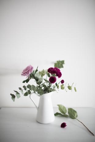 foto de marta jarra y flores